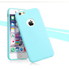Matte Candy Color Phone Case iPhone 5 5S 6 6S Plus 7 Plus 8 Plus X