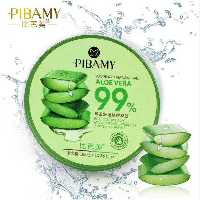 En iyi Yüz Bakımı Konsantre Aloe Vera 99% Yatıştırıcı Jel Krem 300 ml 0.56 Fl. oz. Güneş sonrası Onarım Yatıştırıcı Nem Beyazlatma Maske