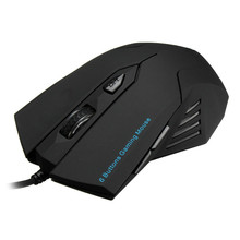 USB Wired 2400DPI Gaming Mouse 6 Buttons Optical Mouse Scroll Wheel Game Mice Gamer Mice For Desktop Laptop Computer PC