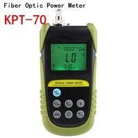 10pcs/lot FTTH tools Fiber Optic Power Meter Tester 70 to +6 db power meter Tester FC/SC connector lightTest 6 wavelength