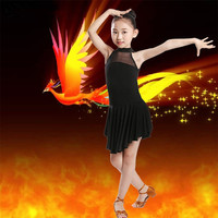 Fashion girls Latin Dance Dresses Ballroom Dance Competition Dresses Latin Dance Dress Salsa Dancewear Tango Clothes for Girls