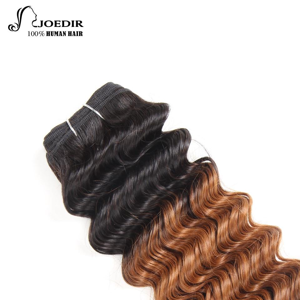 Joedir Deep Wave Bundles 1 Piece Only Brazilian Human Hair Weaving - Skönhet och hälsa - Foto 4