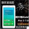 Для Alcatel One Touch Pixi 3 7.0 Tablet Закаленное Стекло Экрана Протектор HD Прозрачный 9 9н Твердость Против царапин Ультра-тонкий