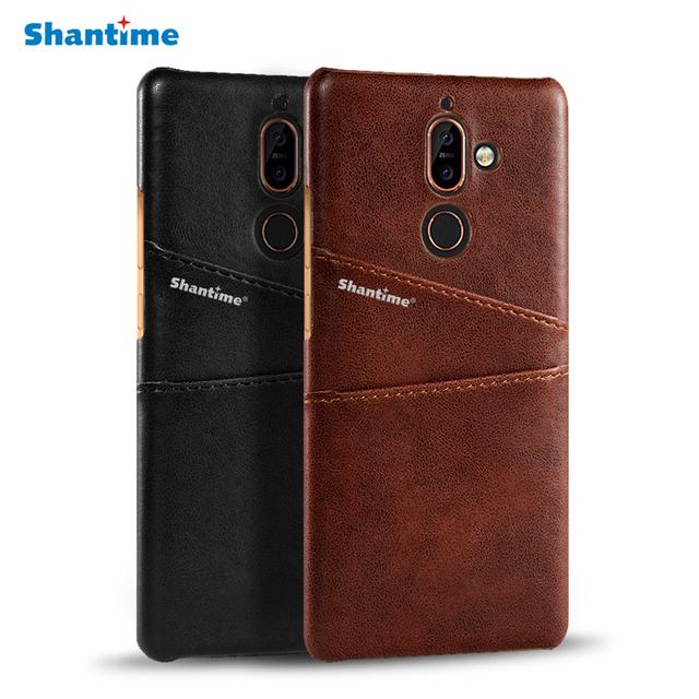 super popular 98051 50496 US $4.99 |For Nokia 7 Plus Phone Case For Nokia 7 Plus Business Case  Leather Wallet Cover With Card Slot Holder Luxury Sense-in Wallet Cases  from ...