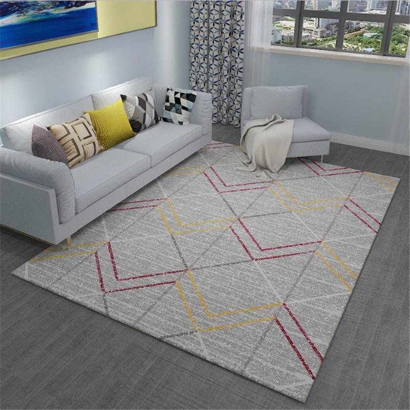 AOVOLL 2019 nouveau tapis minimaliste européen tapis et tapis pour la maison salon tapis enfants chambre tapis tapis chambre - 5