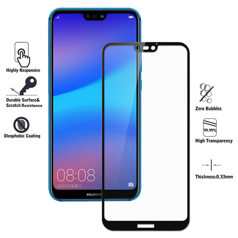 Full Cover Tempered Glass For Huawei P30 P20 P10 Lite Screen Protector Film On Huaweel 10 plus 20pro Light Safety HD Film On P10