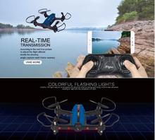Professional RC Quadcopter racing Drone T-18 2.4g one key return WiFi FPV Phone iPad Control with 720P wide angle Camera vs X5SW