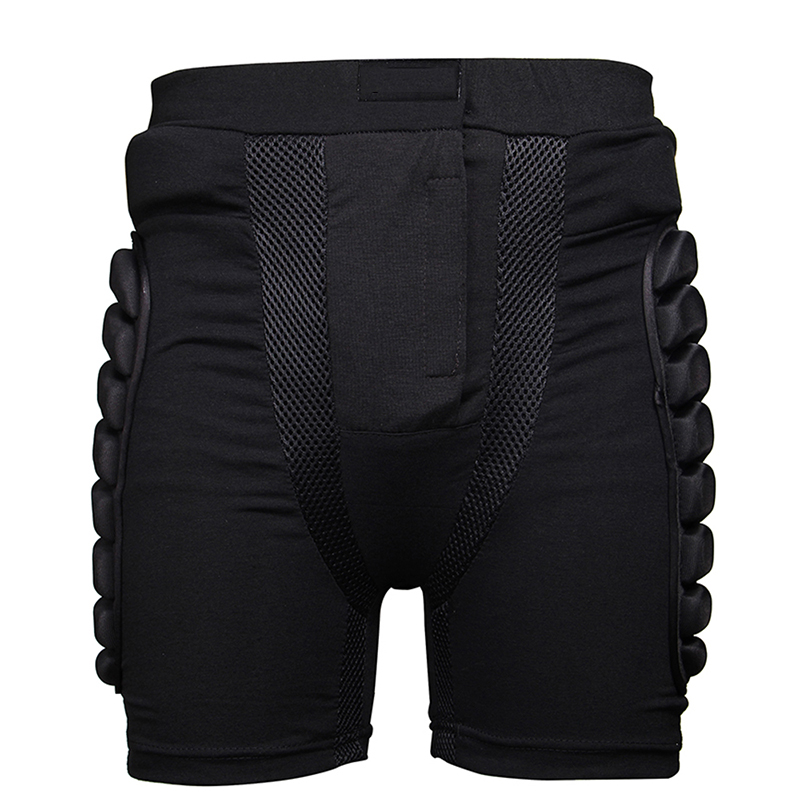 Winter Breathable Sports Skiing Shorts Protective Hip Bottom Padded Amour For Ski Snow Skate Snowboard  Hockey Pants Protection