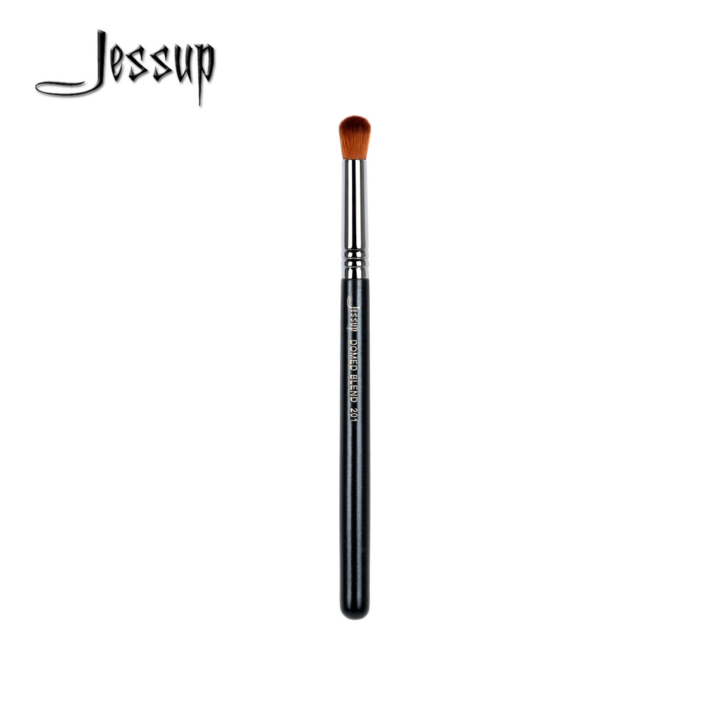 Jessup High Quality Materials Professional Face brush Makeup brushes Domed Blend Brush 201 creativity essential oil blend true botanical 100% pure and natural undiluted high quality therapeutic grade blend of rosemary clary sage hyssop marjoram cinnamon 5 ml