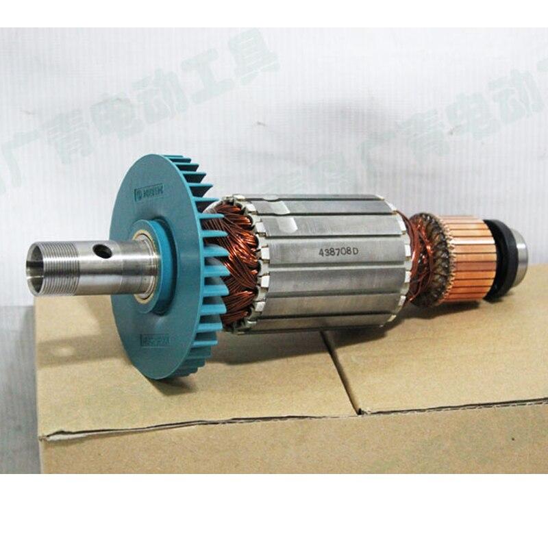 Япония Makita 3612c станок деревообрабатывающий ротора 3612 Двигатель Электрические триммеры Двигатель арматура