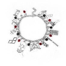 Cool Game Of Thrones / Supernatural Themed Metal Charm Bracelet