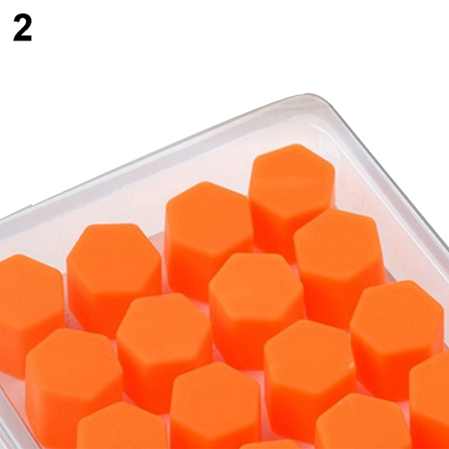 20pcs/bag 17mm wheel nut covers 19mm 21mm  car bolt caps wheel nuts silicone covers practical hub screw cap protector 5