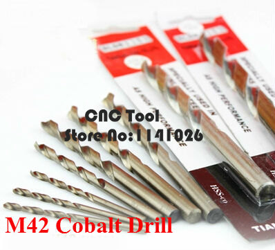 1PCS 7.6mm-12.0mm Containing Cobalt Drill, HSS-CO Straight Shank Twist Drill,suitable Metal Stainless Steel (8/9/10/11/12mm)
