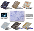 Marble Texture Shell Case laptop Protector For Mac book 11 12 13.3 15.4 inch For Apple macbook 11 12 13 15 Air Pro with Retina
