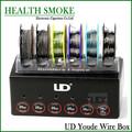 2016 Original Youde UD Wire Box with 6 kinds of wires SS316L/Ni200/Nichrome Wires 6pcs wire in one box