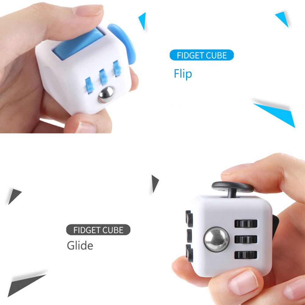 Fiddle Fidget Cube Children Desk Kids Toy Adults Stress Relief ADHD In Magic Cubes From Toys Hobbies On Aliexpress