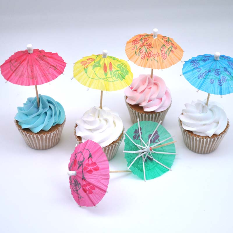 Free shipping umbrella picks cocktail parasol drink party art toothpick 144pcs/lot high quality