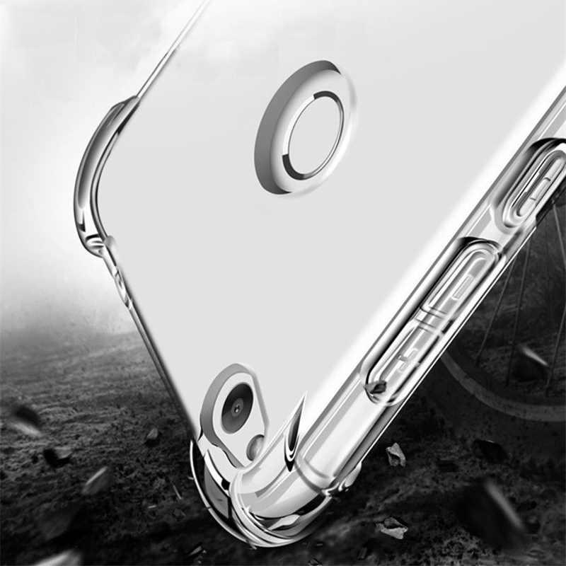 Shockproof TPU Soft Silicone Transparent Case For Huawei P8 P9 Nova Lite 2017 Mate 10 9 P10 Lite Honor 9 8 10 lite 7X 9 6A 6C 6X