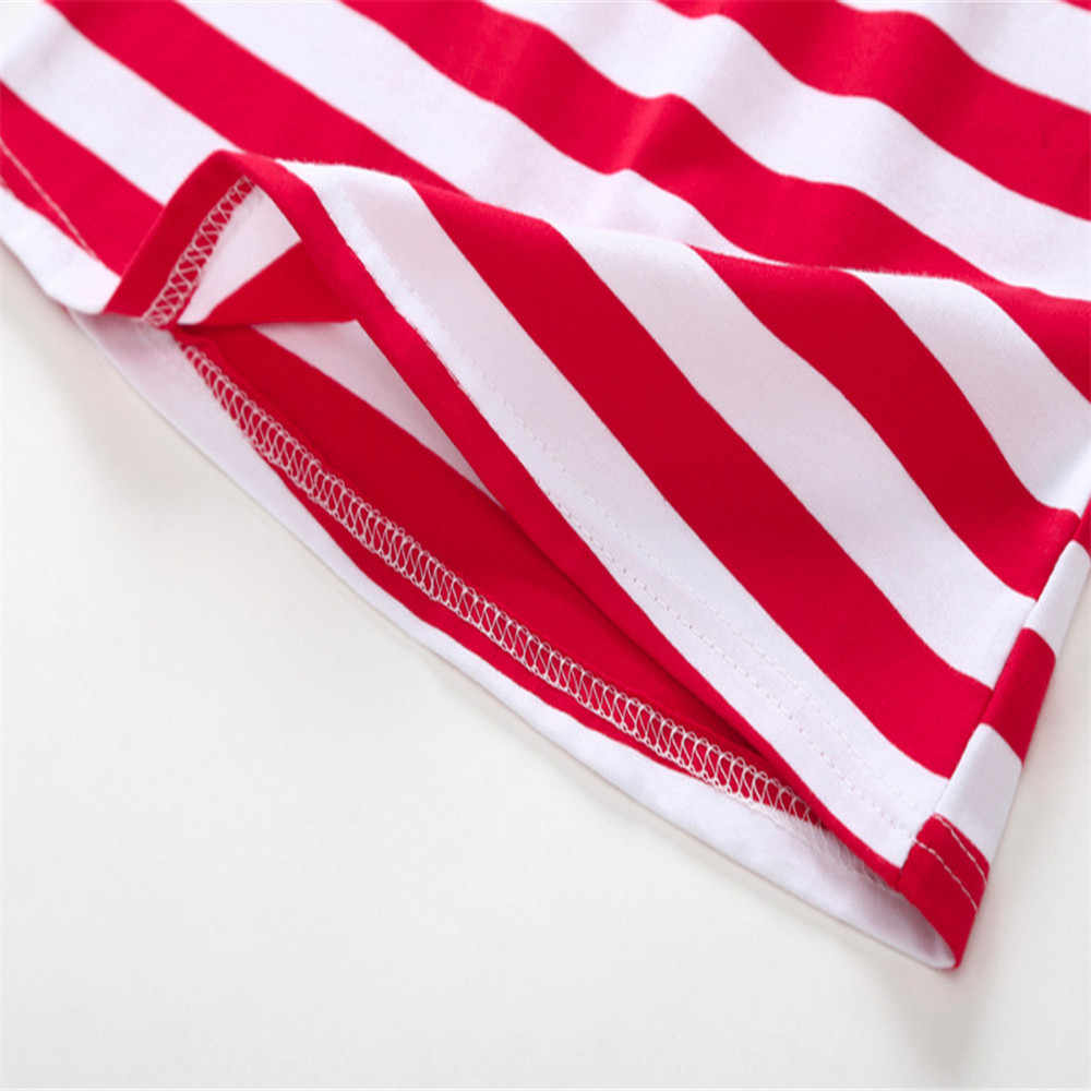 2728ec849ad10 LONSANT Newest Fashion Baby Girls Stars Striped Print Dres+Headband 4th Of  July Toddler Clothes Outfits Dress 6M-24M baby