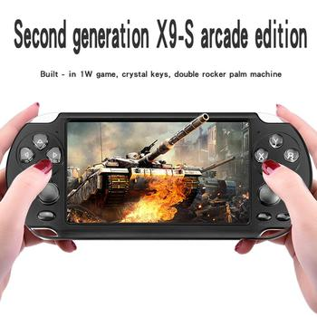 Gamepad Retro Game Console Colorful Screen  5.1Inch PSP Double Rocker Handheld Game Console MP5 game player Handheld Game