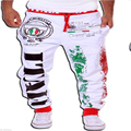 Pantalones de los hombres ocasionales venta caliente único bolsillo grande de hip hop Outwear Casual Hombres Joggers Harem Pants Ropa de Deporte de Calidad SUPERIOR AQUÍ