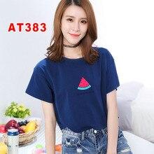 Летние дышащие женские футболки для отдыха AT38