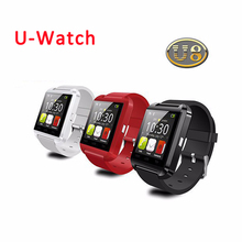 2016 HOT Bluetooth Smart Watch U8 U WristWatch for Samsung HTC Huawei Android Smartphones SmartWatch Support