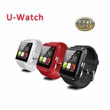 2016 HEIßER! Bluetooth Smart Uhr U8 U Armbanduhr für Samsung HTC Huawei Android Smartphones SmartWatch Unterstützung Sync Anruf Nachricht