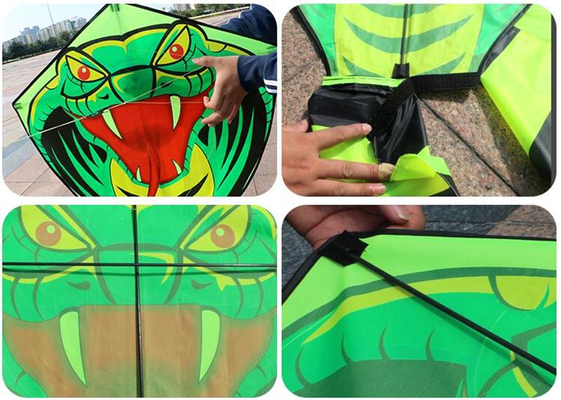 бесплатная доставка 15 м змея воздушный змей линии прочный нейлон ткань открытый игрушки воздушный змей легко открыть детские воздушные змеи для взрослых радуга