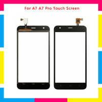 5Pcs/lot high quality Touch Screen Digitizer Sensor Outer Glass Lens Panel For BlackView A7 A7 Pro