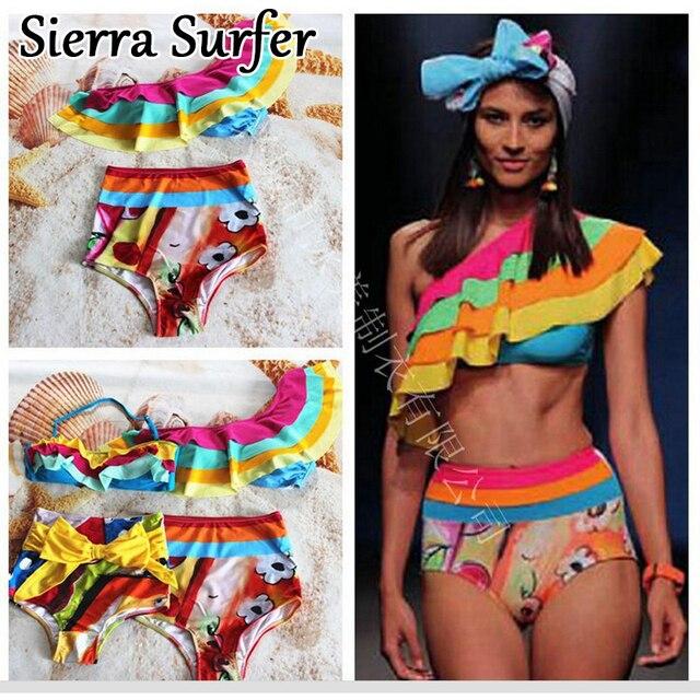 ae14e1656926c Biquine Women S 2018 Lady Plavky Bikini Top Xxl Push Up Tops Cover Swim  Suit Rainbow Bandeau