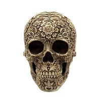 Human Head Resin Replica Medical Model Lifesize 1:1 Halloween Home Decoration High Quality Decorative Craft Skull Party Decor