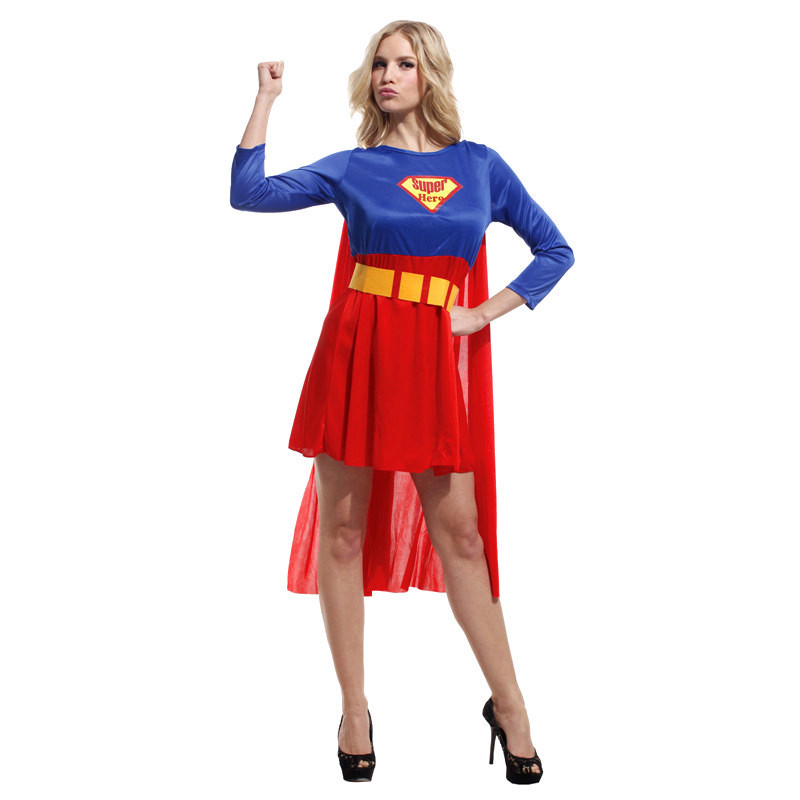 Superman ...  sc 1 st  Meningrey & Superman Costume Female - Meningrey