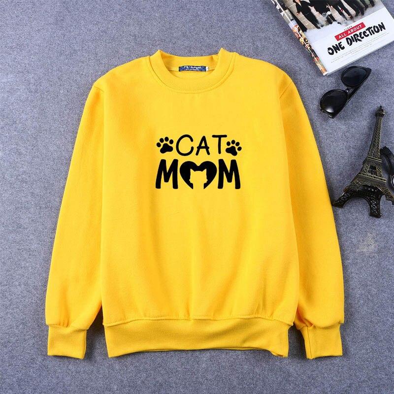 Chien maman imprimer femmes Sweatshirts graphiques Sweatshirts femmes Clothingm drôle Sweatshirts dames hauts mignon Sweatshirts grande taille