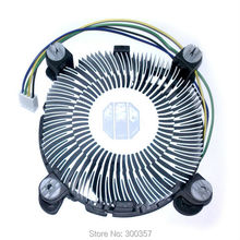 4 PinDesktop Computer PC Aluminum CPU Heatsink cheap Cooler Fan for LGA 775 or LGA1155/1156/1150 3type