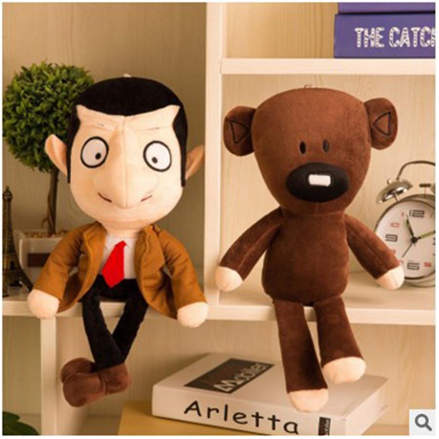 30 см Mr Bean Teddybeer Leuke Kawaii Pluche Knuffels Mr. bean Speelgoed Voor Kinderen Verjaardagscadeau Geschenken Knuffels