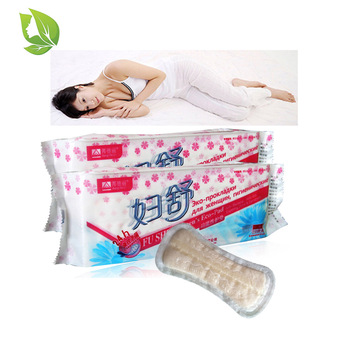 50 pcs/ 5 packs Chinese Herbal Gynecological Pad fu shu Medicine Tampons Treatment Anion Pads Vaginal Infection Cure Care Pad