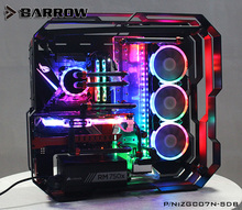 Barrow Acrylic Board as Water Channel use for Zidli ZG07 Computer Case for Both CPU and GPU Block RGB 5V 3PIN Waterway Boards barrow lrc 2 0 watercooling waterway board for tt view 71 tg tg rgb computer case acrylic plate compatible prime z370 a