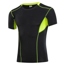 1043 Men Boys Sports Gym Running Compression Base Layers Under Tops Shirts Thermal Top Skins