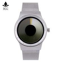 Creative 2016 Quartz Watch Men's Luxury Brand Casual Watch Women Stainless steel Mesh Band Celeste Watch Northern Lights Series