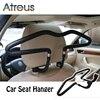 Atreus 1Pcs Car Headrest Stainless Steel Hanger For Abarth Fiat BMW E60 E36 E34 E90 F30