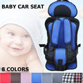 1PC Comfortable Portable 8 Color Baby Car Seat Safety Kids Car Protection Baby Cushion Children Safety Seat Auto Booster Chair