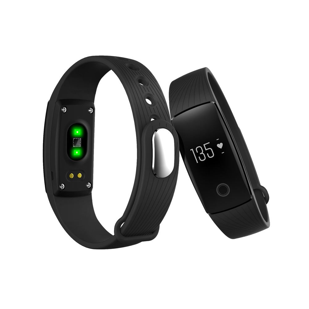 NEW ID107 V05C Heart Rate Monitor Smart Wristband Fitness Tracker Bluetooth Smart Bracelet Fashion Smartband for