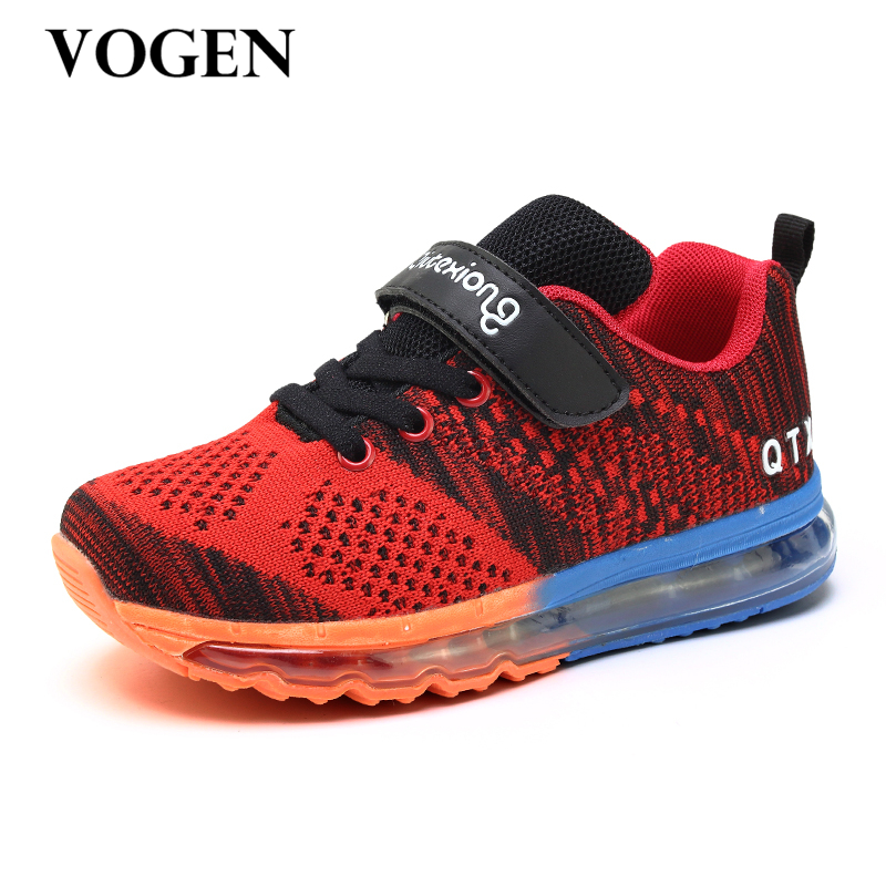 2017 New Arrival Designer Spring Kids Shoes Boys Krasovki Girls Sneakers Running Air Cushion Children's Sport Trainers Shoes hobibear classic sport kids shoes girls school sneakers fashion active shoes for boys trainers all season 26 37