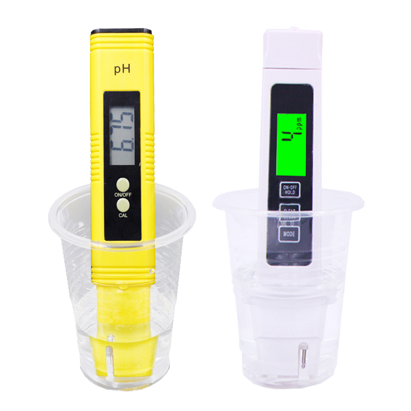 Digital pH Meter and Tester with Large Screen TDS Tester Meter for Water Quality 3-in-1 Accurate(TDS,EC,Temperature), 0-9990 ppm