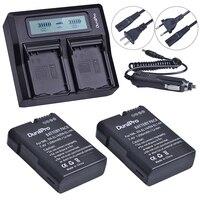 2pc EN EL14 EN EL14 EL14A Camera Li Ion Battery LCD Dual Fast Charger For Nikon
