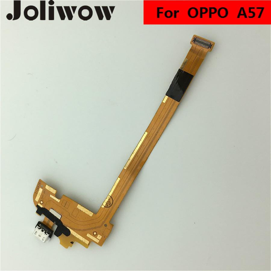 For Oppo A57 Usb Port Charging Charger Flex Cable Dock Connector Replacement Parts In Mobile Phone Cables From Cellphones Telecommunications On