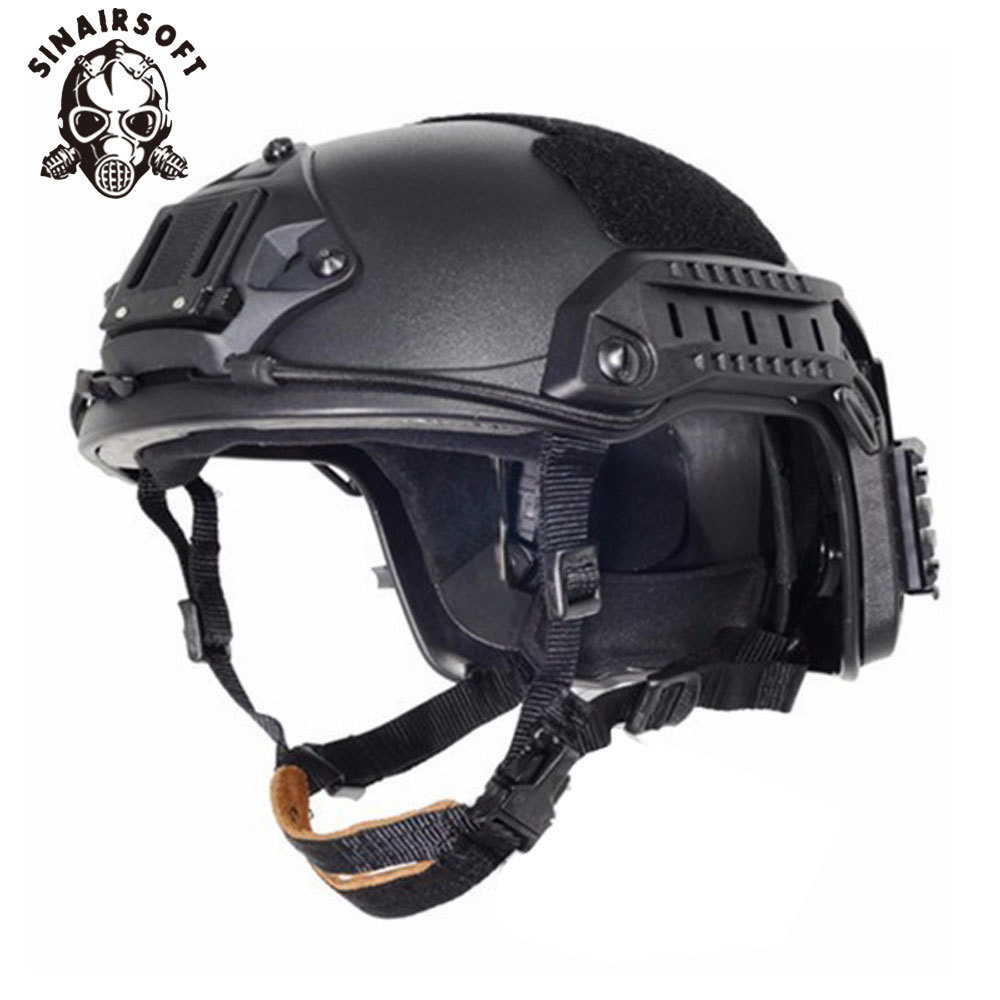 SINAIRSOFT NEW FMA Maritime Tactical Helmet ABS DE/BK/FG For Airsoft Paintball Airsoft Helmet цена