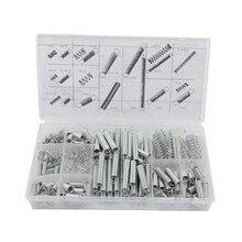 200Pcs/set 20 Sizes Practical Metal Tension/Compresion Springs Assortment Kits ALI88