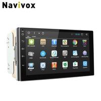 Navivox 7 Car Multimedia Player 2 Din Android 7 1 1 2G Ram Quad Core Universal